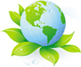 We carry environmental friendly products.