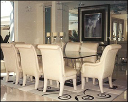 Dining Room porcelain tile