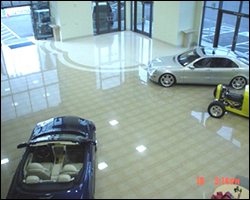 Showroom tile